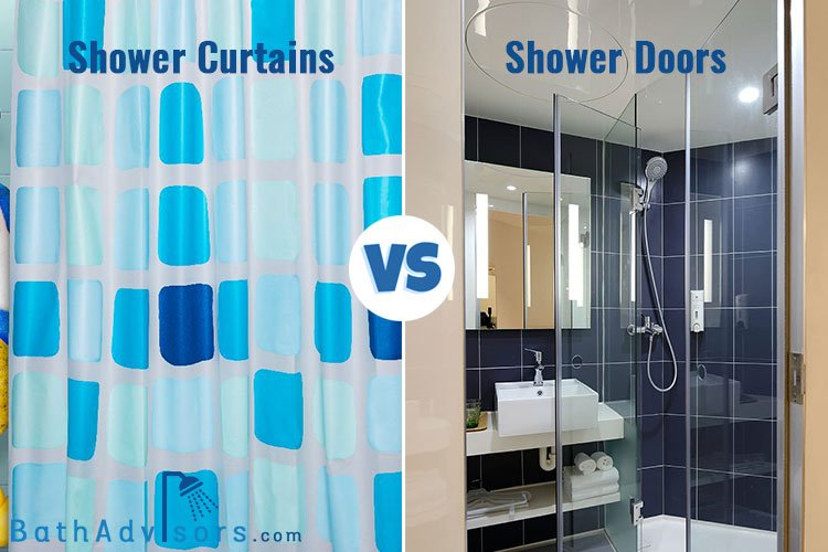 Shower Curtains vs Shower Doors