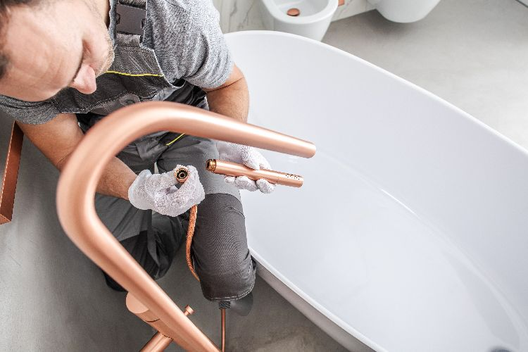 Install a Freestanding Tub Filler